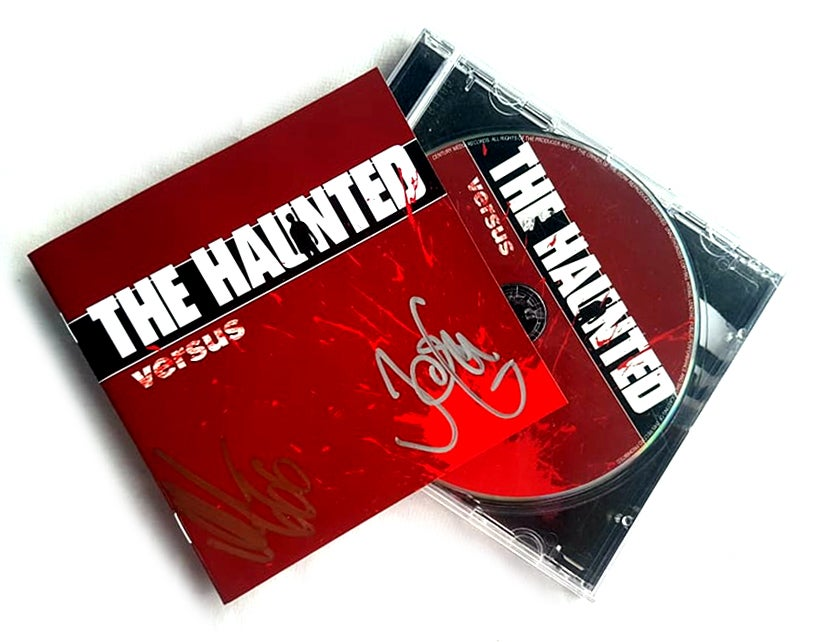Image of CD (SIGNED) - The Haunted 'Versus'