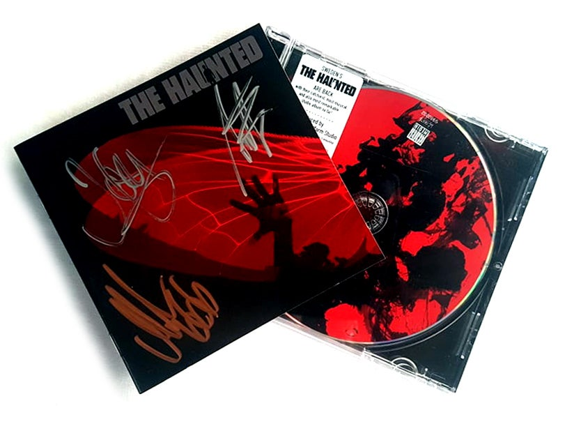 Image of CD (SIGNED) - The Haunted 'Unseen'