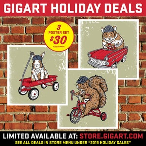 Image of Critter 3 Pack Holiday Deal