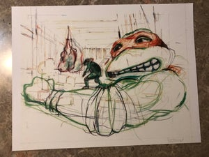 "Image of ""Lost Mikey"" Sketch"