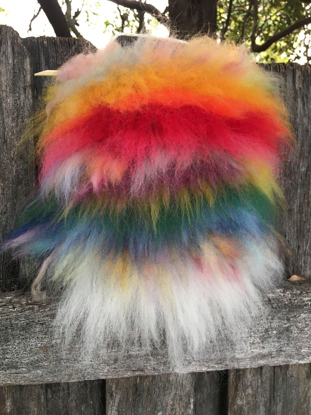 Rainbow Fluffy