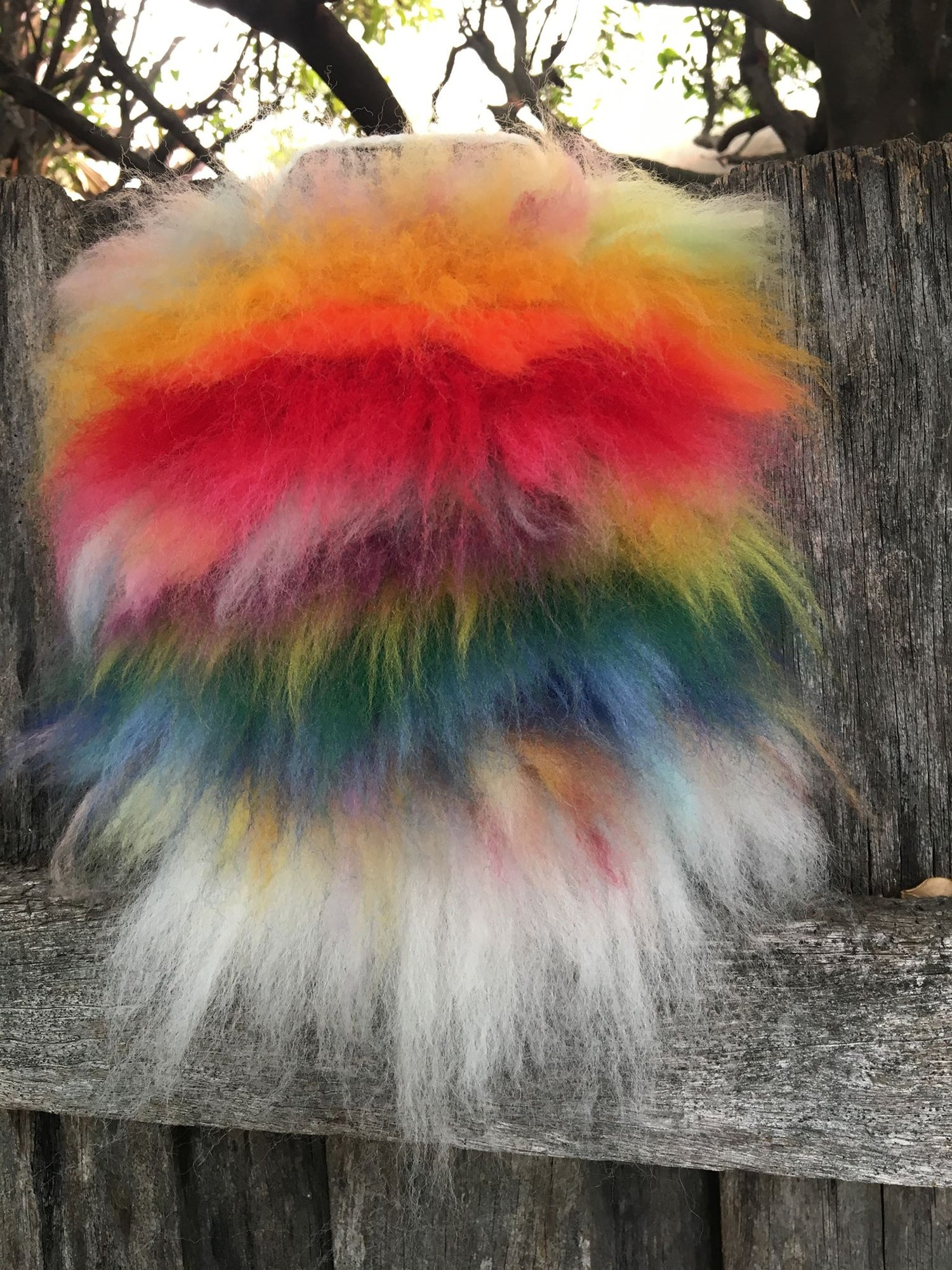 Image of Rainbow Fluffy