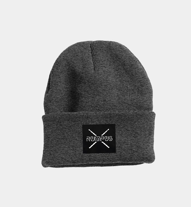 Image of Toque - Charcoal with Patch
