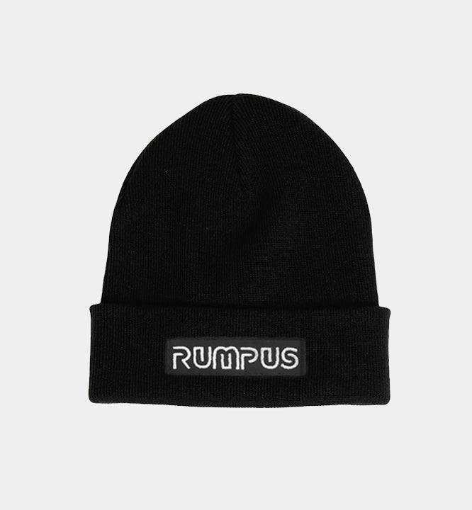 Image of Toque - Black with Patch Logo