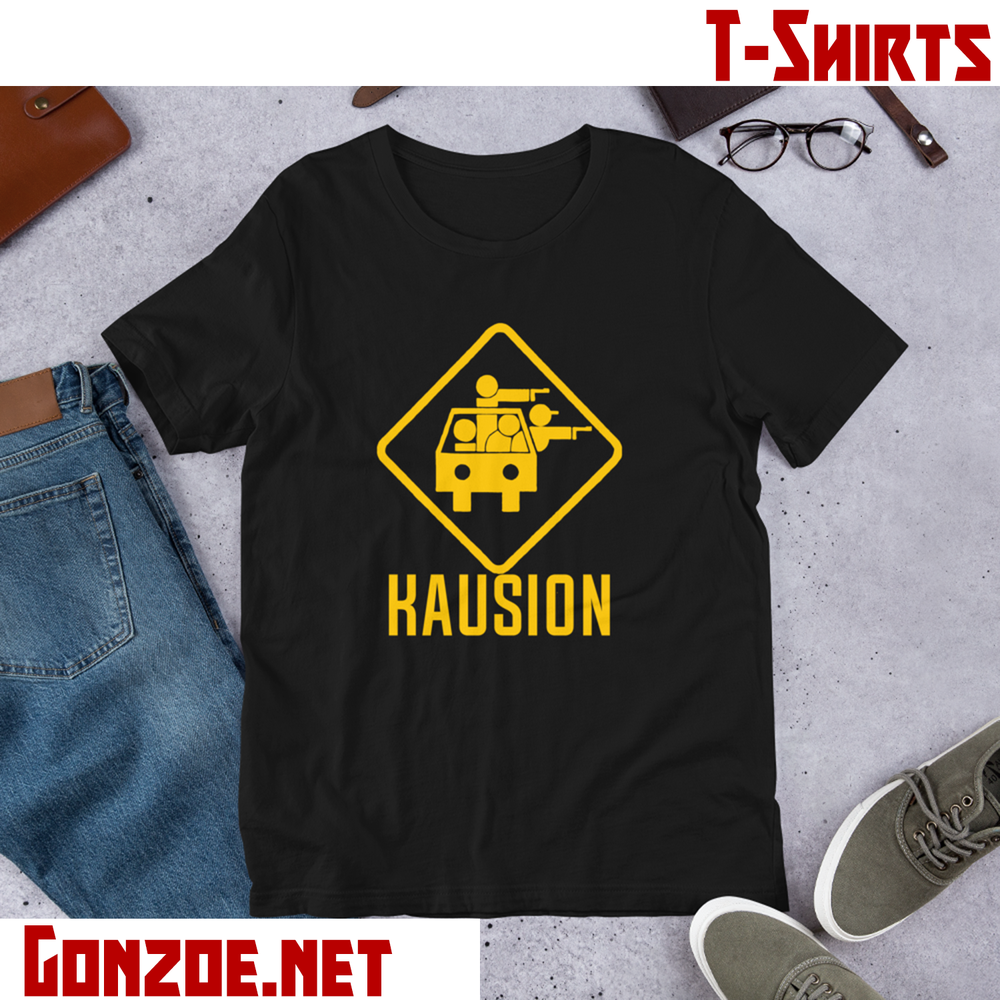 Image of Kausion Logo T-Shirt (Black)