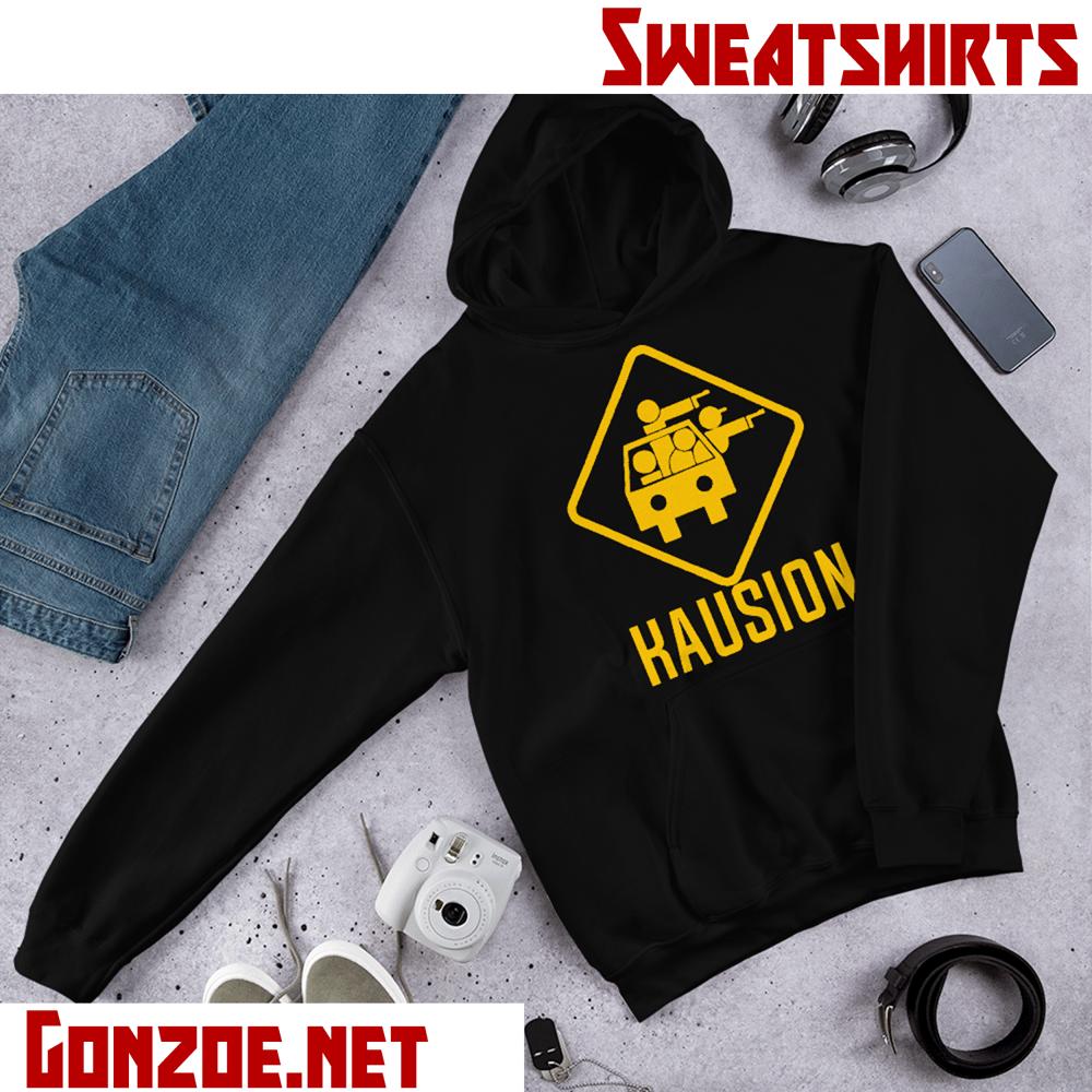 Image of Classic Kausion Logo Fleece Hoodie Sweatshirt