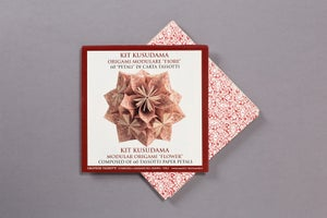 "Image of ORIGAMI KIT ""KUSUDAMA"""