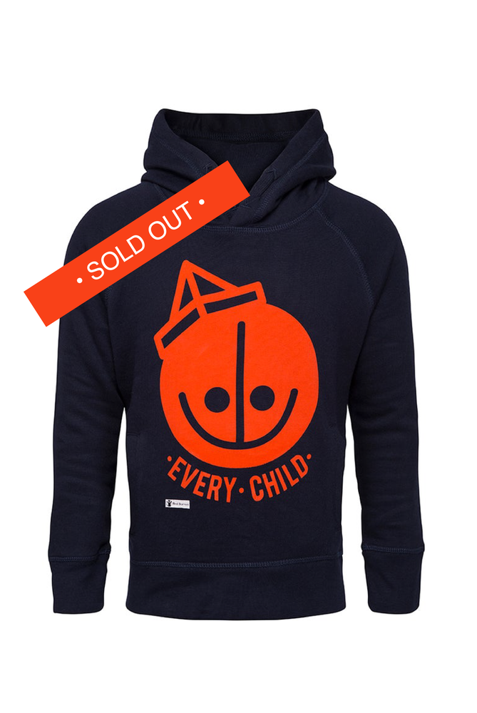 Image of HENRIK VIBSKOV Kids Hoodie - Red Barnet Denmark ( Save The Children Denmark )