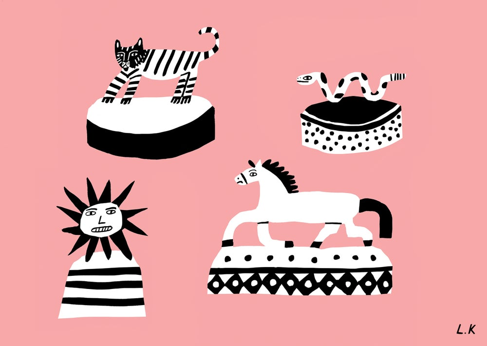Image of Ceramics - A5 Print