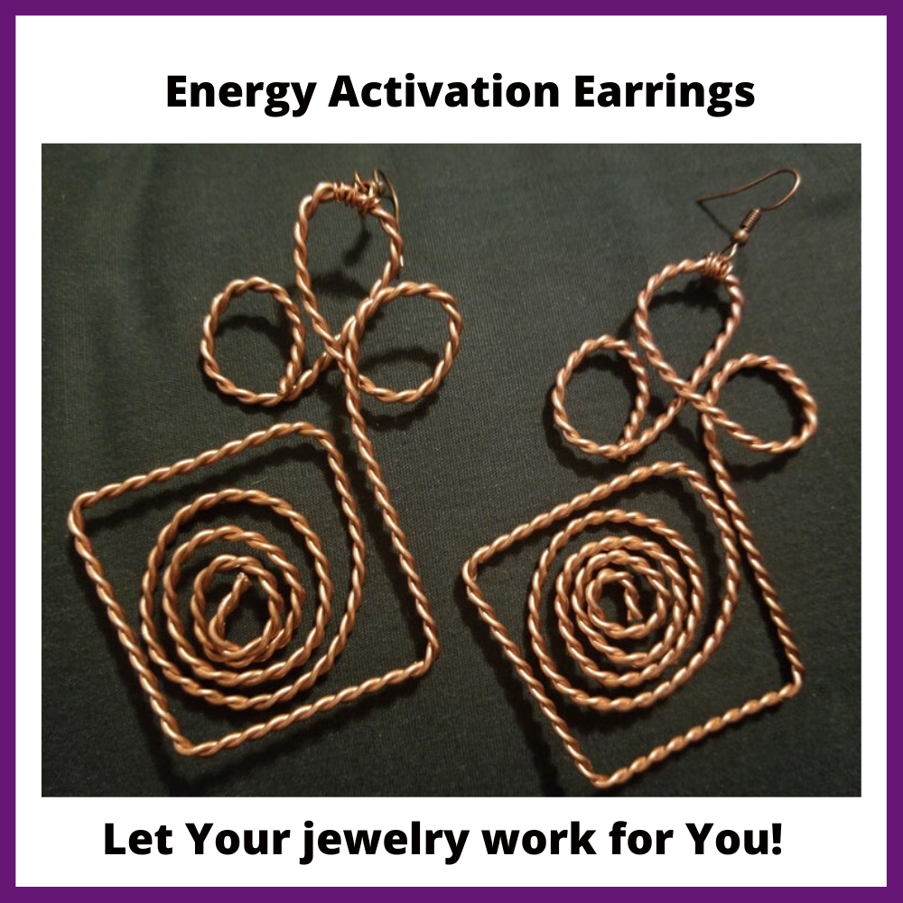 Image of Energy Activation Earrings