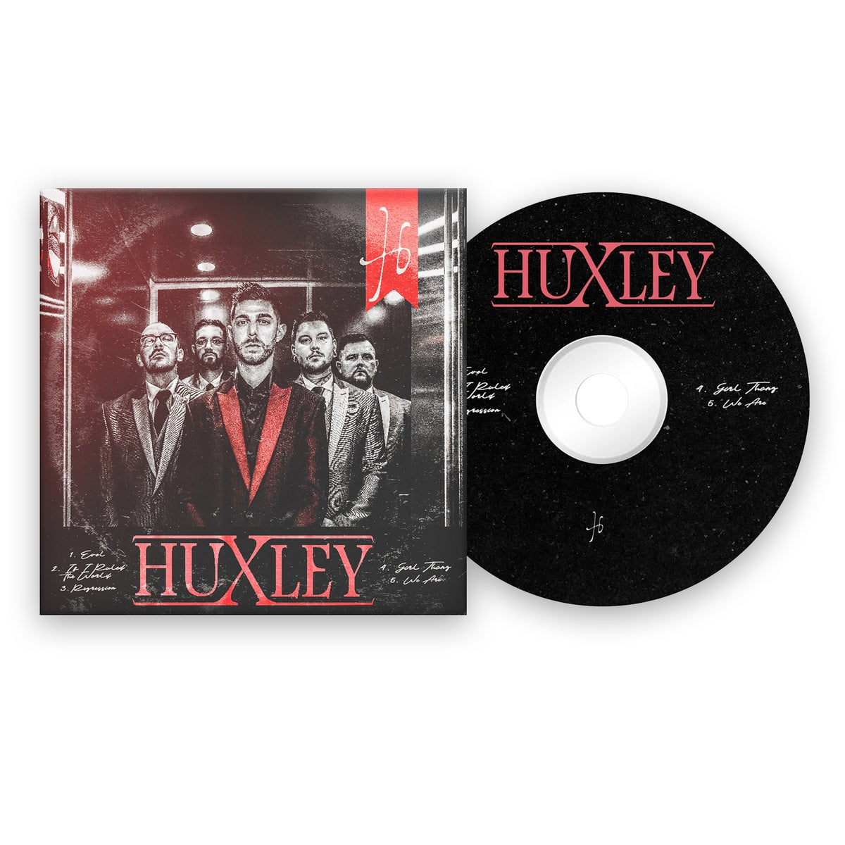 Image of Huxley - Self Titled EP - Physical CD *PRE-ORDER*