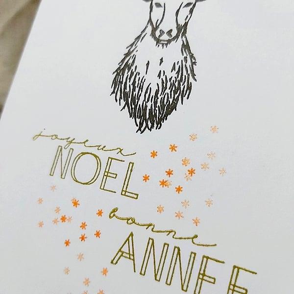 Image of Le Cerf - Bonne Année et Joyeux Noël