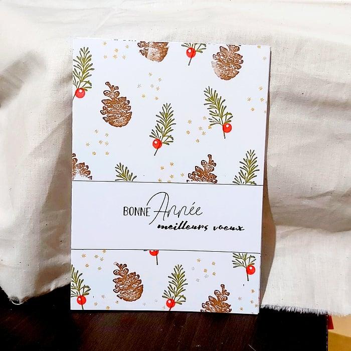 Image of Les Pommes de Pin - Bonne Année et Meilleurs Voeux