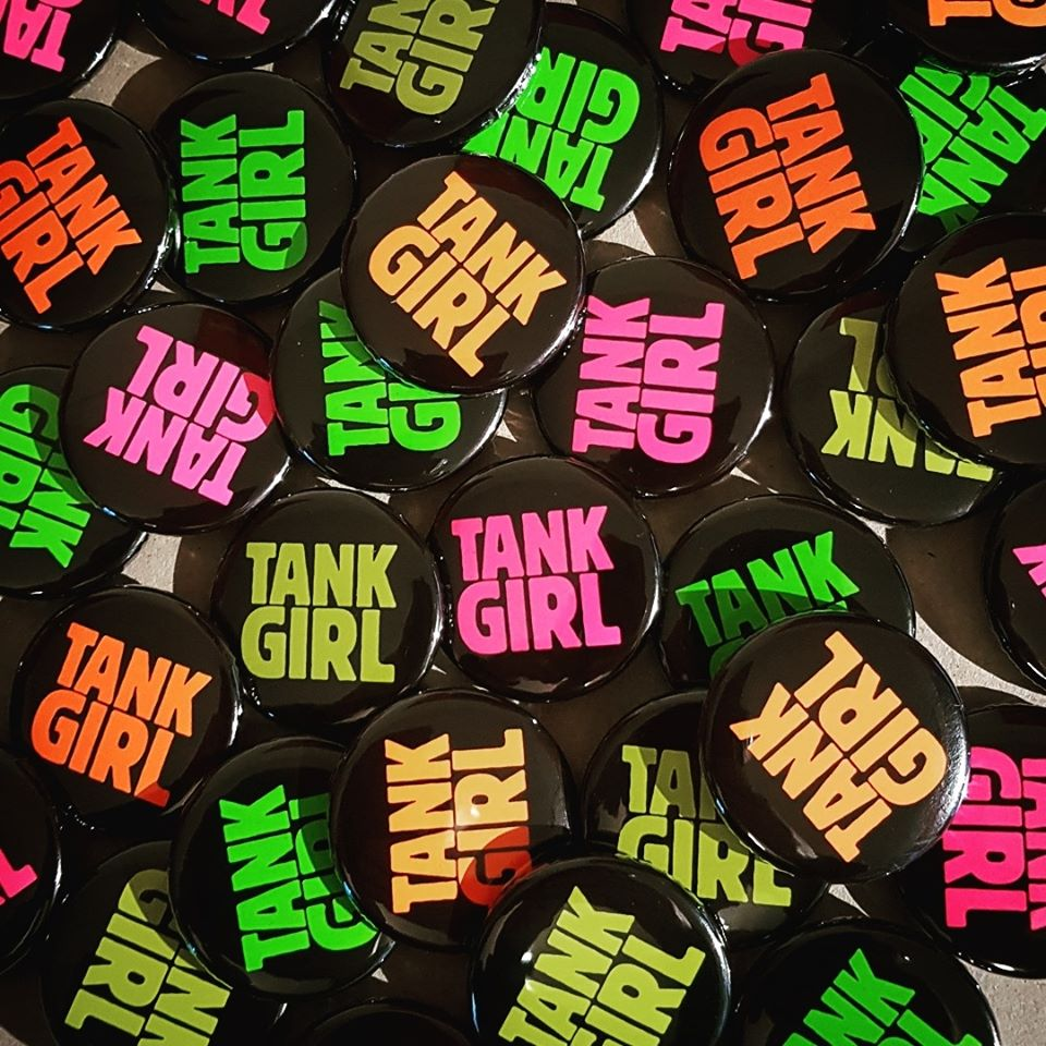 Image of NEW! BARNEY'S PUNKY PATCH PACK (with sticker, badge, & fanzine!)