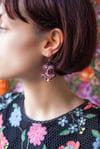 Miracle Earrings - Fancy Amethyst