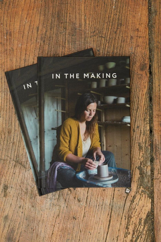 Image of  'In the Making' hardback book
