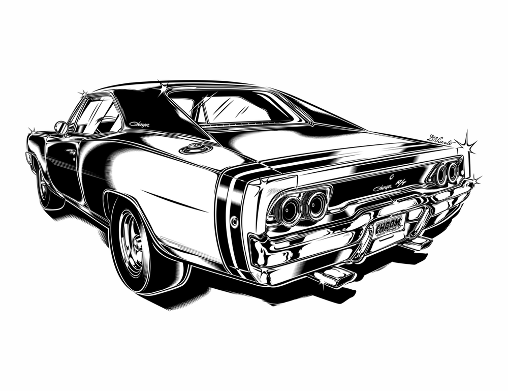 Image of DODGE CHARGER R/T 68