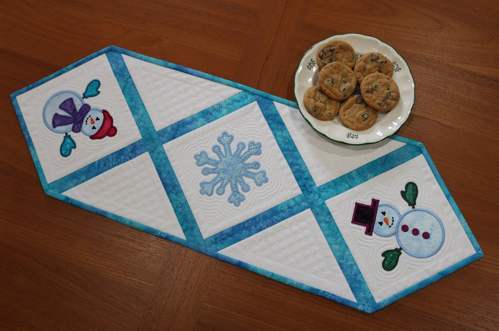 Image of Snowman Table Runner—on sale for December
