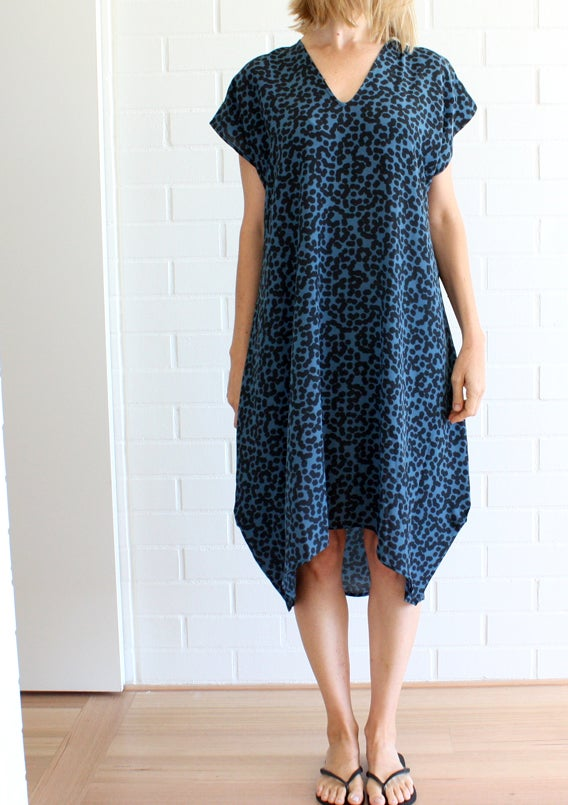 Image of Confetti Print Day Dress