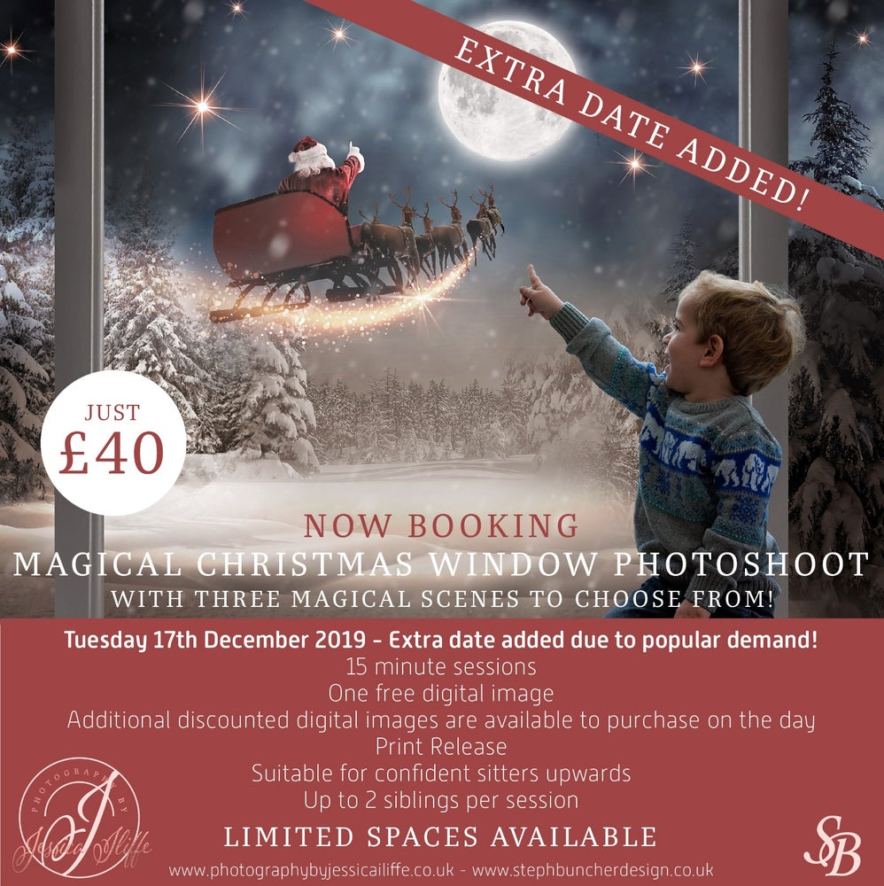 Image of MAGICAL CHRISTMAS WINDOW BOOKING FEE