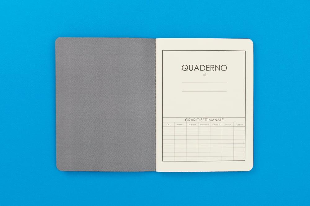 Image of QUADERNO SCUOLA TRADIZIONALE / TRADITIONAL ITALIAN SCHOOL NOTEBOOK