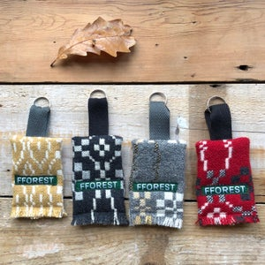 Image of coldatnight welsh wool blanket key rings
