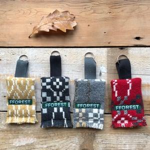 Image of coldatnight welsh wool blanket key rings
