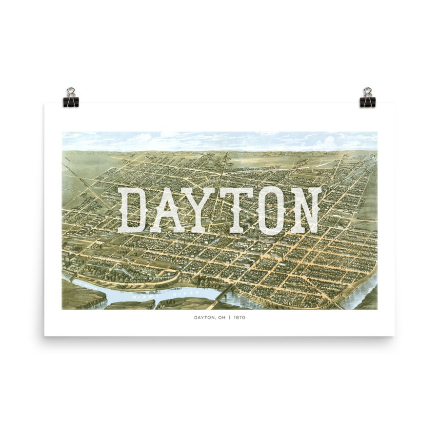 Image of Dayton Birds Eye View