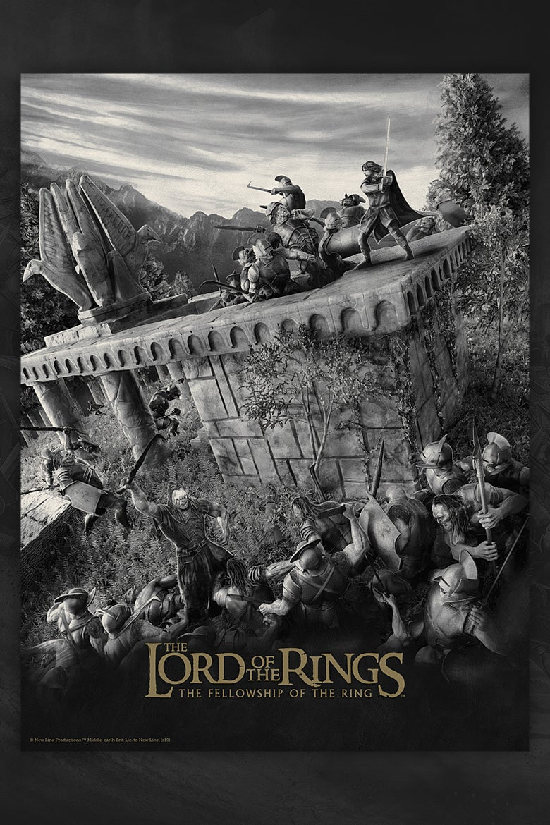 Image of Lord of the Rings - The Fellowship of the Ring (regular & variant editions).
