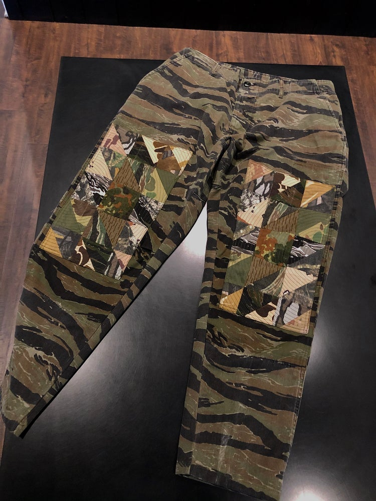 Image of Vintage Jungle Quilted Camo