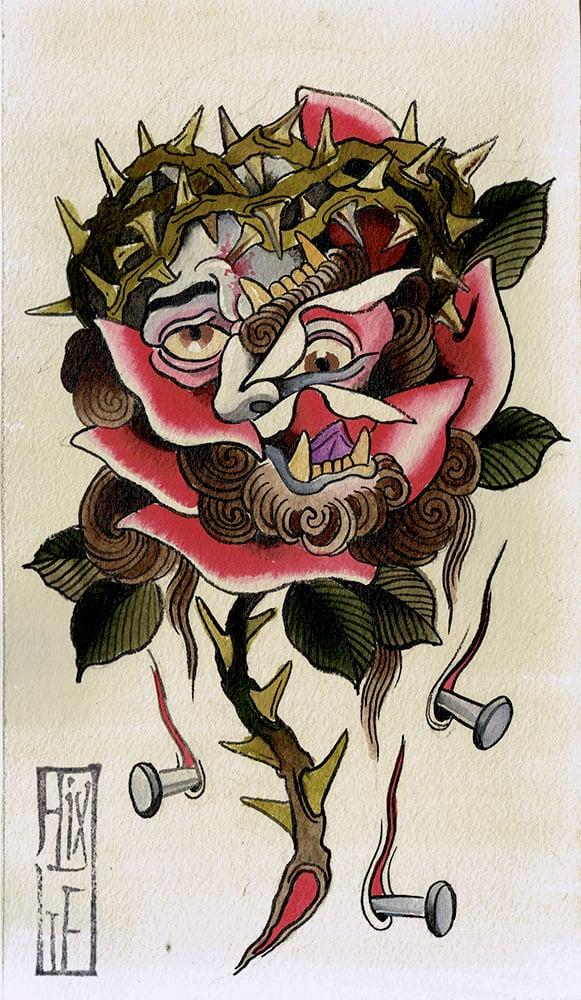 Image of Original Painting - Mash Up