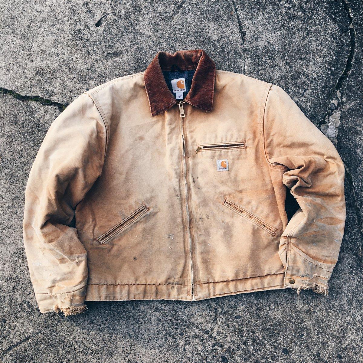 Image of Original Vintage Carhartt Work Jacket.