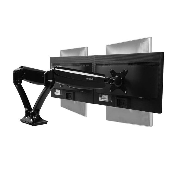 Image of Gas-adjustable VESA monitor arm/mount