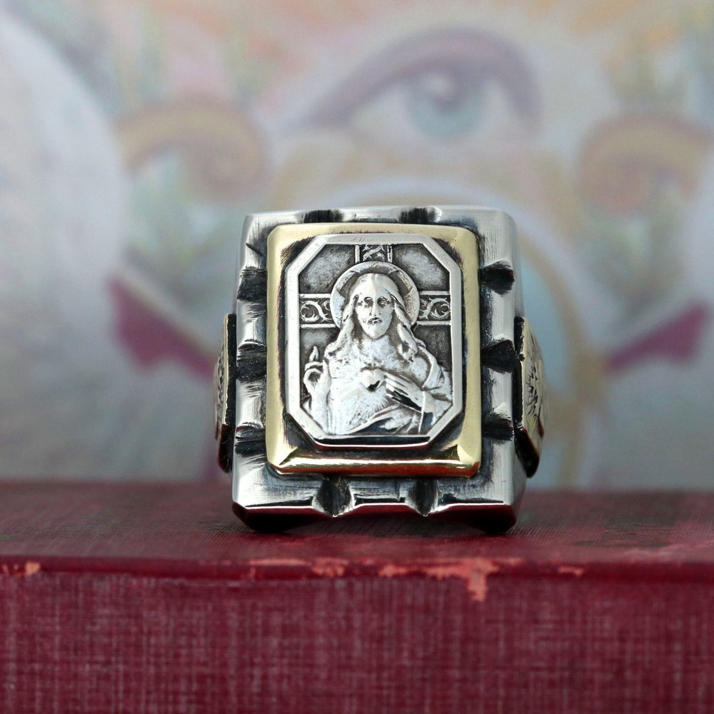 JESUS MEXICAN BIKER RING