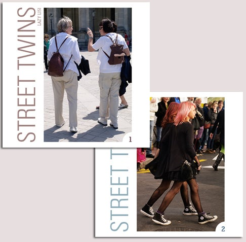 Image of STREET TWINS mini books 1 & 2