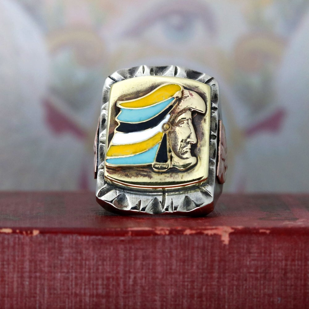 Image of AZTEC RING