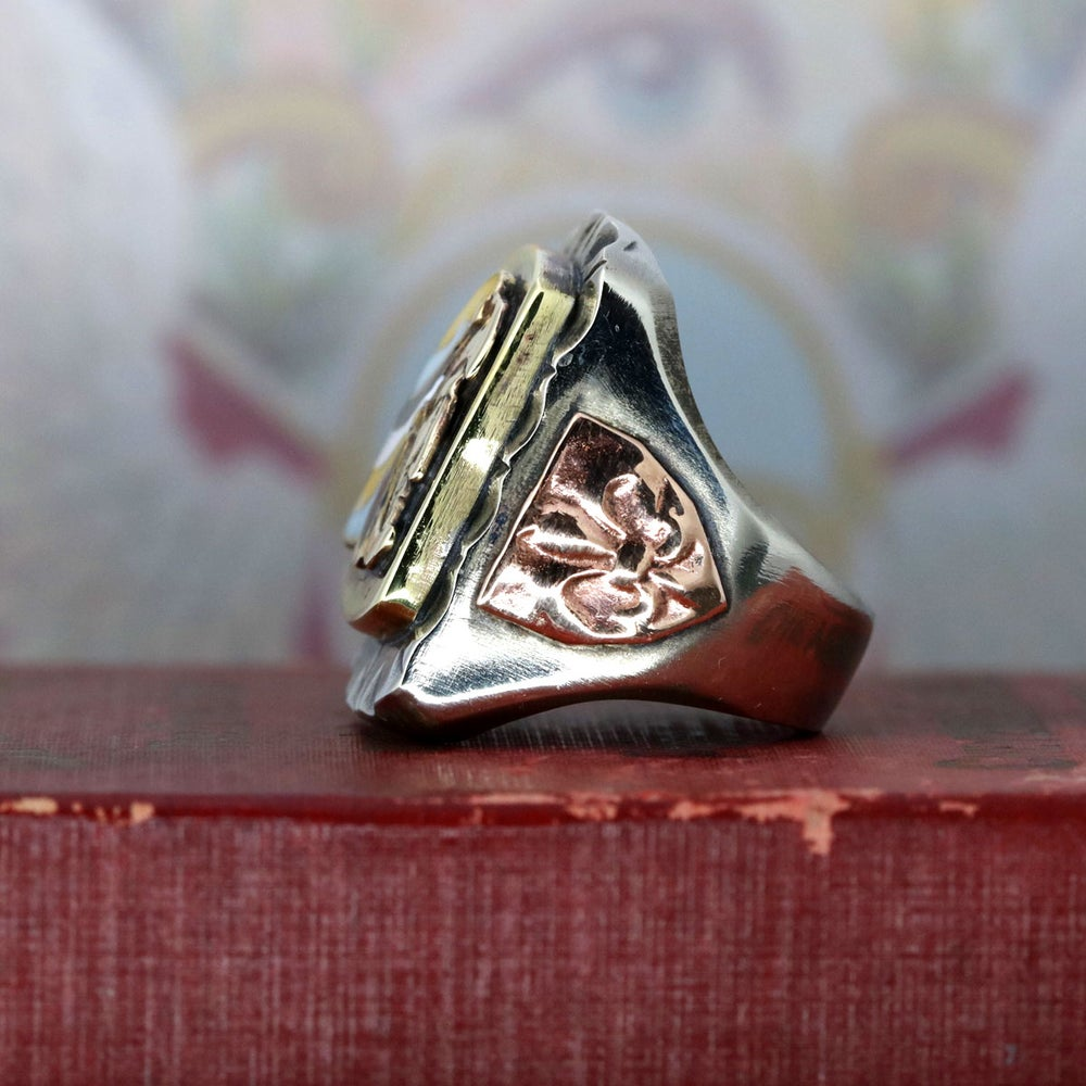 AZTEC MEXICAN BIKER RING