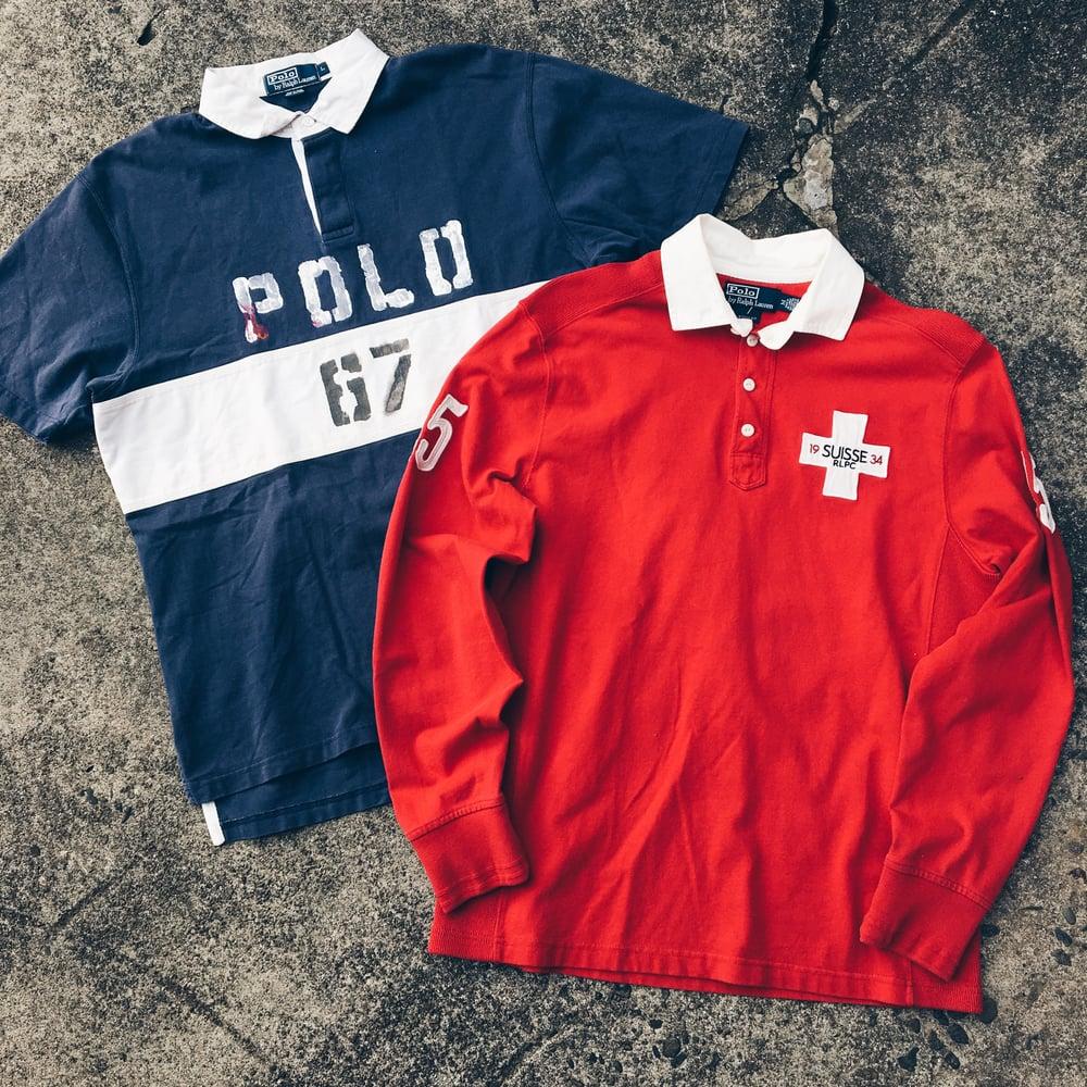 Image of Original 90's Polo Ralph Lauren Tops.