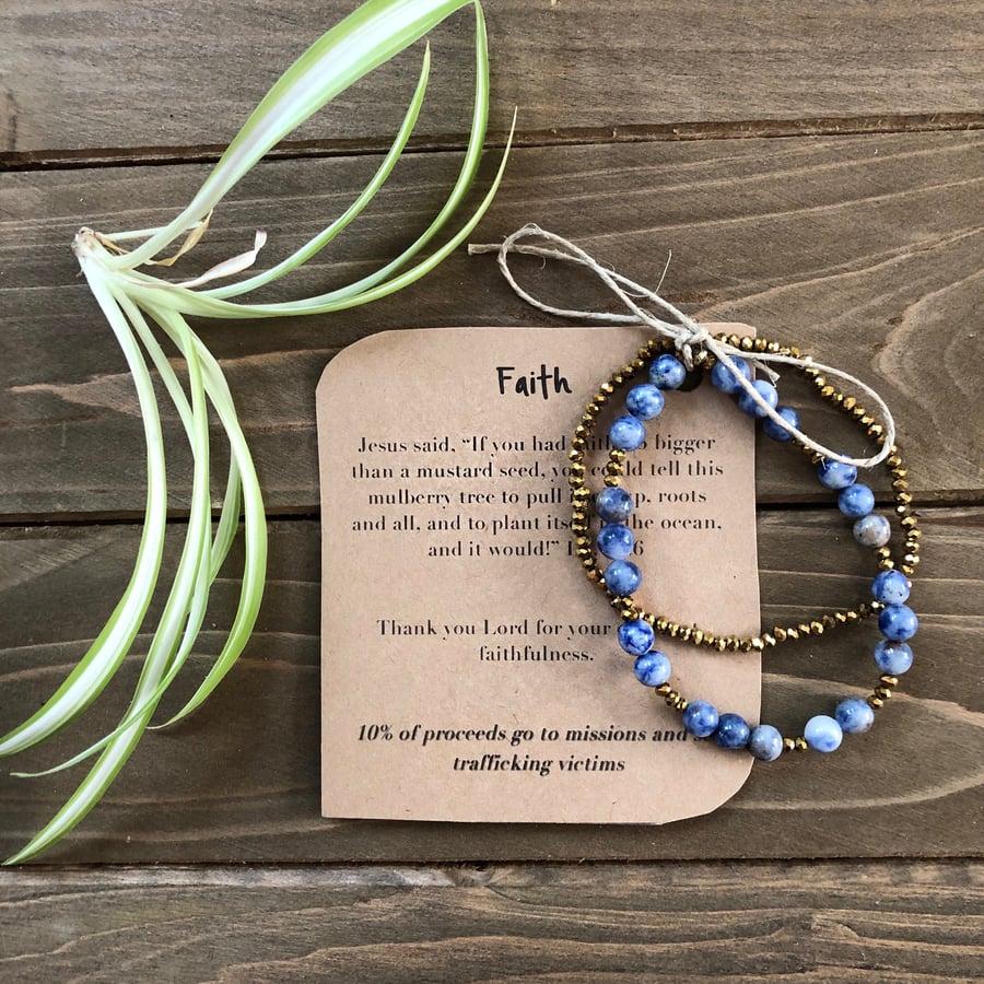 Image of Faith Original Prayer Bracelet