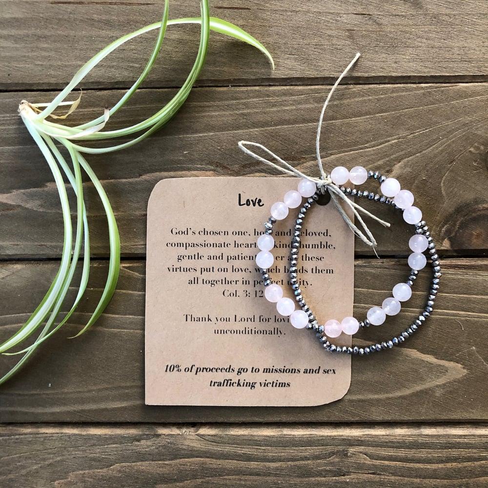 Image of Love Original Prayer Bracelet