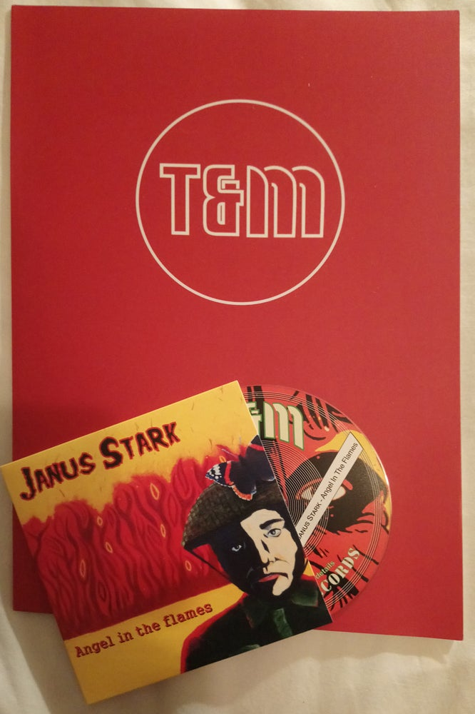 Image of T&M 035 PCD - Janus Stark - Angel In The Flames - Promo Pack