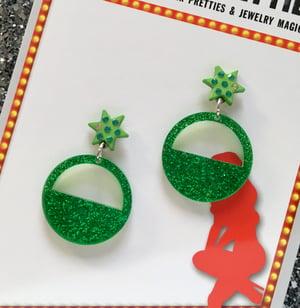 Image of Glitter O' Rama Earrings - 5 Colors