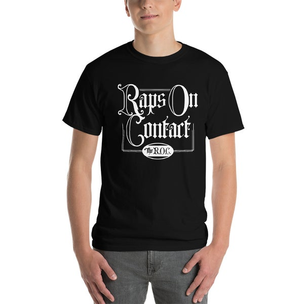 Image of Black Raps On Contact Shirt