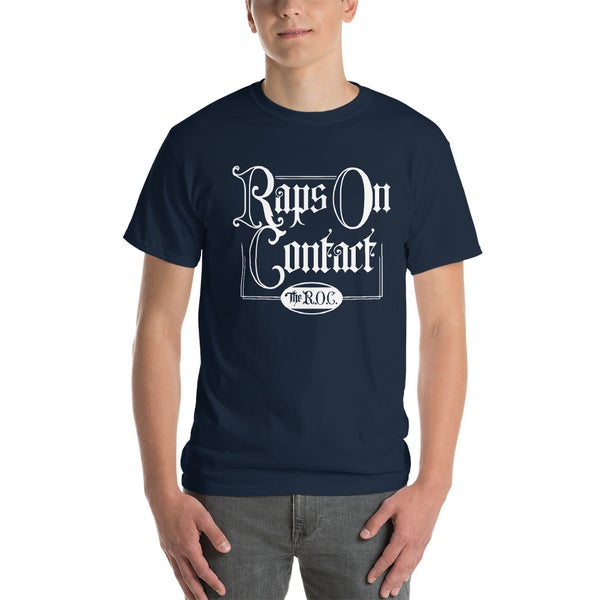 Image of Navy Raps On Contact Shirt