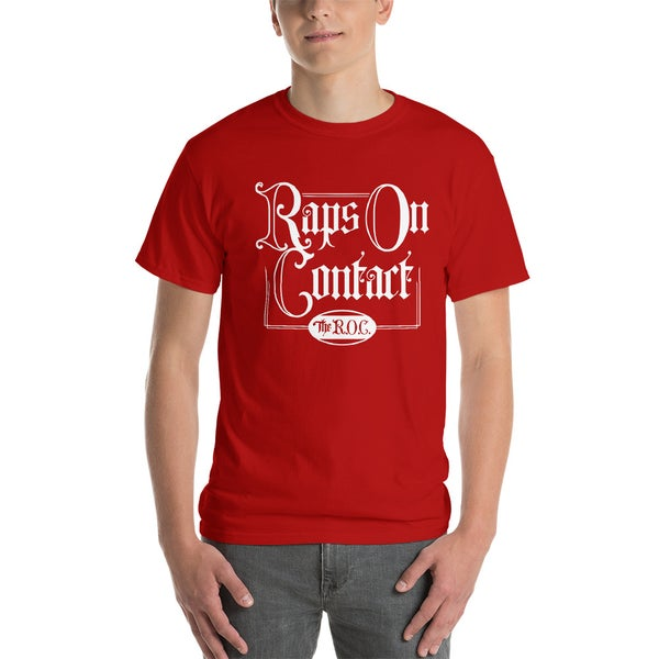 Image of Red Raps On Contact Shirt