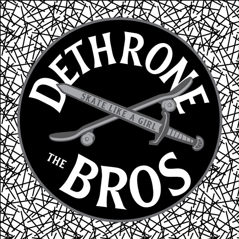 Image of Dethrone the Bros Sticker
