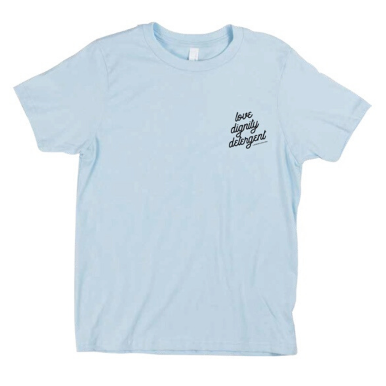Image of 3 Ingredient Lite Blue T-Shirt