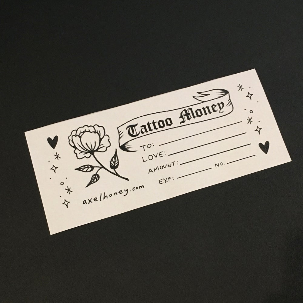 Image of Tattoo Gift Certificate