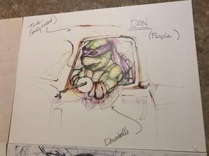 Image of MOVIE SKETCH SET!!!