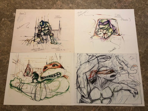 Image of MOVIE SKETCH SET!!!
